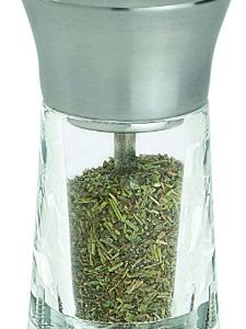 Peugeot-Versailles-Dried-Herbs-Mill-Acrylic-Stainless-Steel-14cm-0