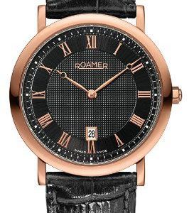 Roamer-Limelight-Mens-Quartz-Watch-with-Black-Dial-Analogue-Display-and-Black-Leather-Strap-934856-49-51-09-0