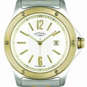 Rotary-GB0256618-Gents-Two-toned-PVD-Stainless-Steel-Bracelet-Watch-0