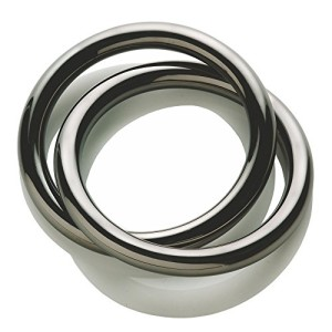 Alessi-Oui-Napkin-Ring-with-PVD-Coating-in-1810-Stainless-Steel-Grey-0