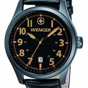 Wenger-Terragraph-Mens-Quartz-Watch-with-Black-Dial-Analogue-Display-and-Black-Leather-Strap-010541105-0