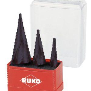 Ruko-A101032F-Stepped-Drill-Bit-Set-TiAlN-Titanium-Aluminium-Nitride-0
